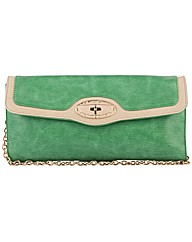 Claudia Canova Envelope Flap Clutch With