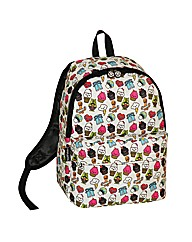 David & Goliath Character Print Backpack