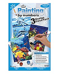 Paint by numbers Sea creatures