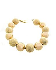 Gold Plated Beaded Bracelet