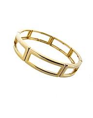 Gold Plated Expander Link Bracelet