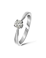9ct White Gold 0.25Ct Diamond Ring