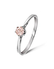 9ct White Gold 0.2 Carat Diamond Ring