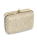 Jon Richard Gold Diamante Clutch Bag