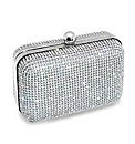 Jon Richard Silver Diamante Clutch Bag