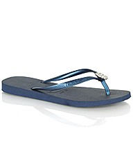 Havaianas Crystal Poem Toe Post