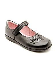 Start-rite Fleur Black Leather Fit H