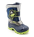 Start-rite Spider Snow Navy Fit F