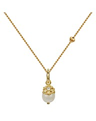 Gold Plated Silver Pendant on Chain