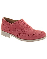 Chatham Soho Womens Suede Brogues