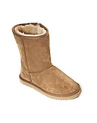 Free-Step Snug Casual Suede Boot