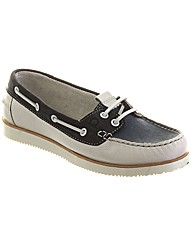 Chatham Josie Womens Lace Up Boat Shoe