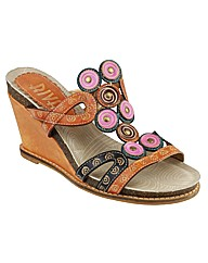 Riva Otters Multi Leather Womens Sandals