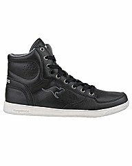 KangaRoos K-Basket Womens Hi-Top Trainer