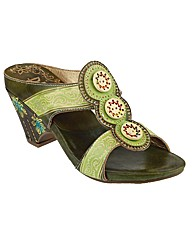 Riva Congo Leather Womens Sandals