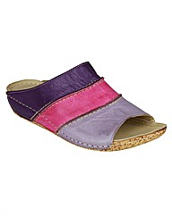 Riva Rainbow Multi Leather Womens Shoes