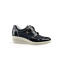 Rosa Navy Casual Shoe