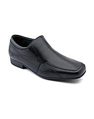 Start-rite Plus Black Leather Fit F