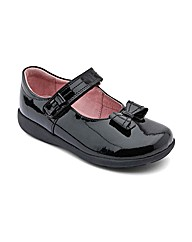 Start-rite Viola Black Patent Fit E