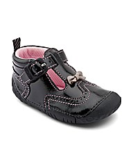 Start-rite May Black Patent F Fit Shoes