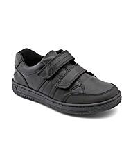 Start-rite Atom Black Leather Fit G