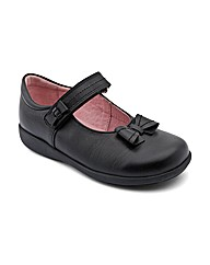 Start-rite Viola Black Fit E Shoes