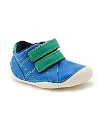 Start-rite Baby Milan Blue Leather Fit H