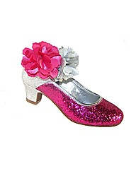 Sparkle Club Pink and Silver Shoes