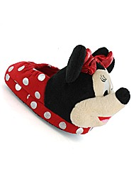 Minnie Pine 3D Slipper
