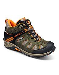 Merrell Cham Mid Lace WTPF Shoe Kids
