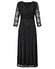 Grace Made in Britain lace maxi dress