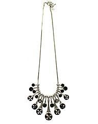 Multi Drop Glass Necklace