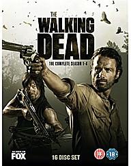 Walking Dead - Seasons 1-4