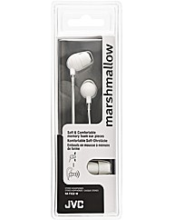 JVC Marshmallow Headphones (White)