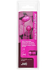 JVC Marshmallow Headphones (Pink)