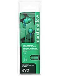 JVC Marshmallow Headphones (Green)