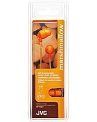 JVC Marshmallow Headphones (Orange)