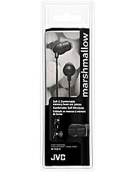 JVC Marshmallow Headphones (Black)