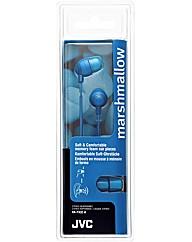 JVC Marshmallow Headphones (Blue)