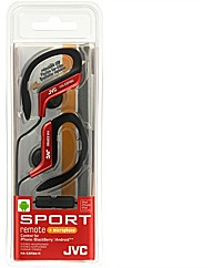 JVC Sports Ear Clip Headphones - (Red)