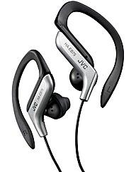 JVC Sports Ear Clip Headphones (Silver)