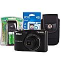 Nikon Coolpix L30 Black Camera Kit