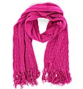 Knitted Sequin Effect Scarf