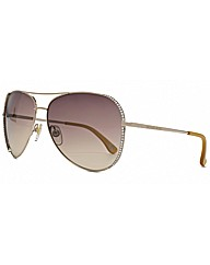 Michael Kors Sadie Aviator Sunglasses
