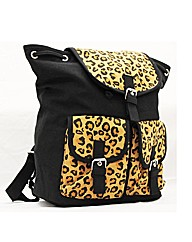Lili B Leopard Print Backpack