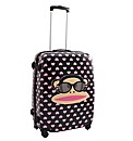 Paul Frank Heart Print Suitcase