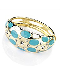 Petal Dolls Turquoise Bangle