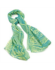 Petal Dolls Green Scarf