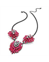 Petal Dolls Fuchsia Necklace