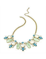 Petal Dolls Aqua Necklace